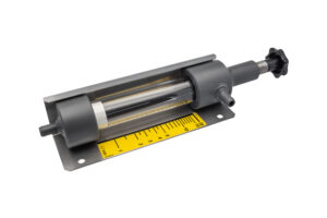 Large adjustable flow meter