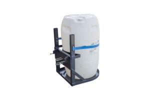 Barrel holder for 1 x 200l barrel